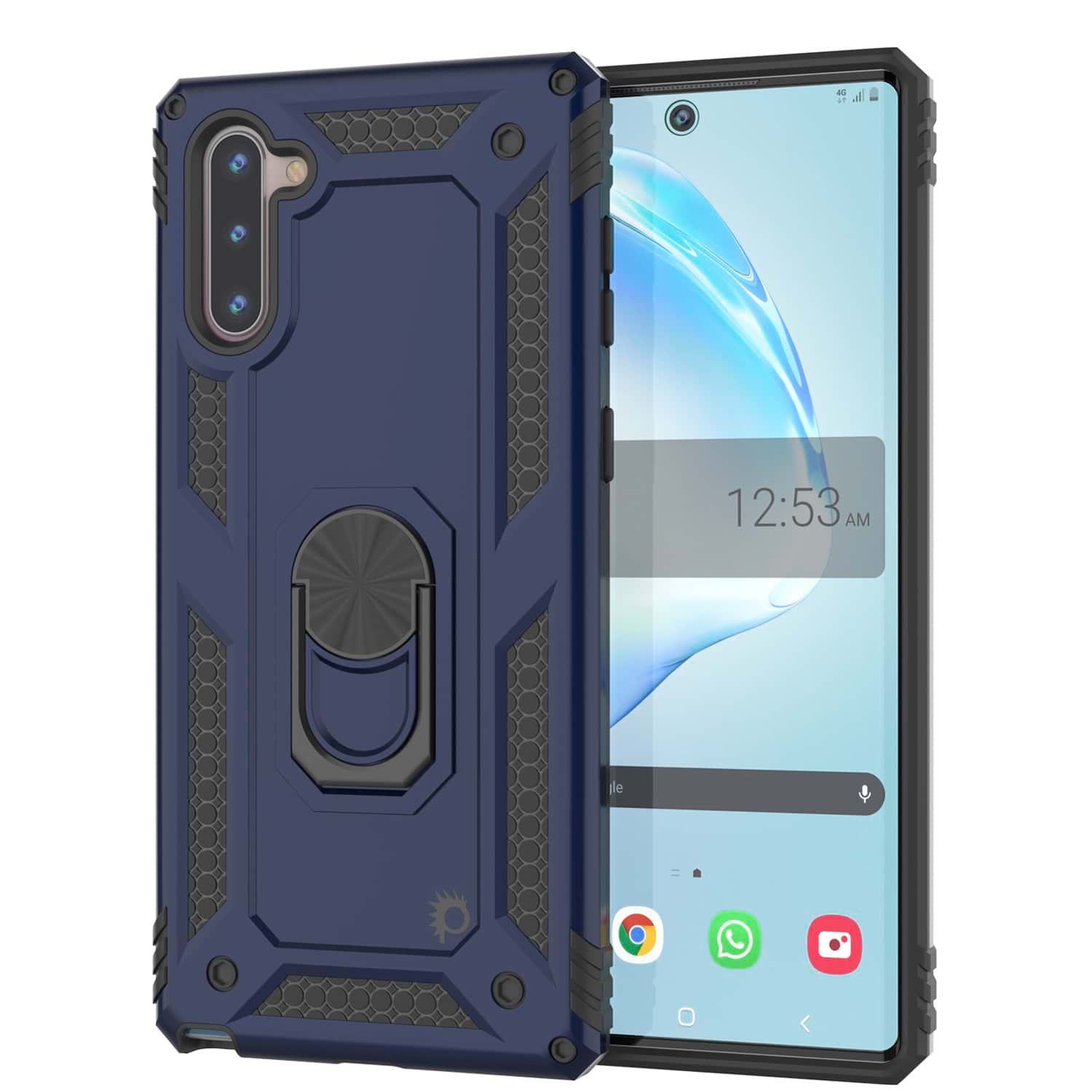 Galaxy Note 10 Punkcase Armor Military Case Navy-Blue