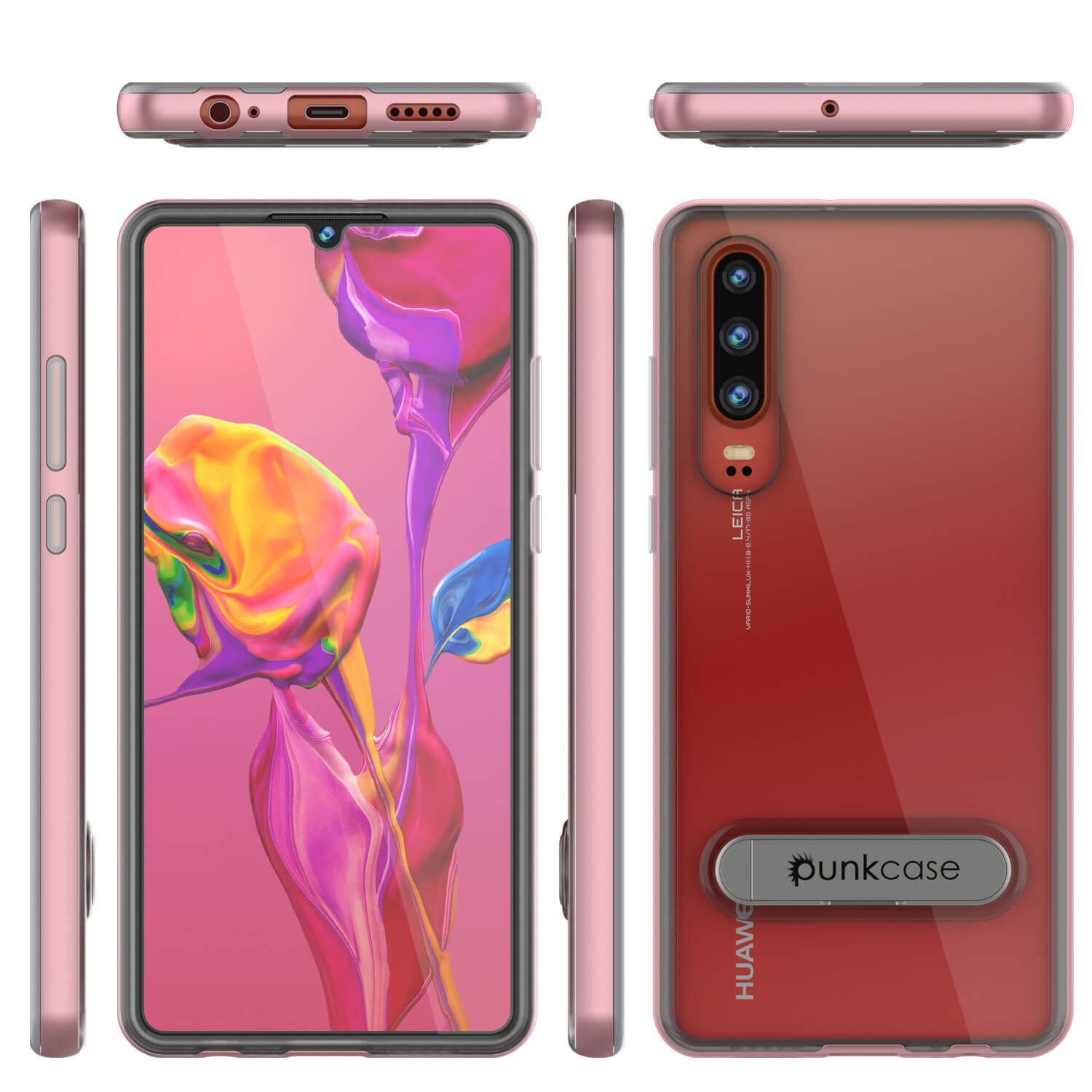 Punkcase P30 Pro Case [Lucid 3.0 Series] Armor Cover [Rose Gold]