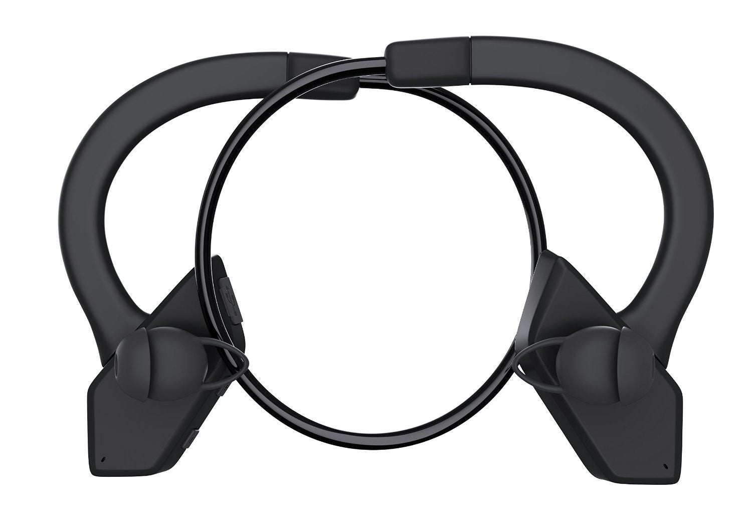 Headphones Bluetooth, Ghostek Earblades Black Sweatproof Bluetooth 4.1 Headphones Water Resistant