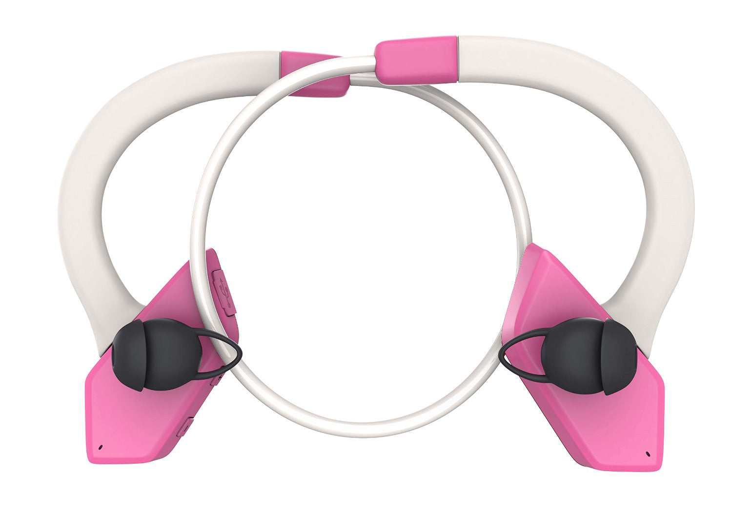 Headphones Bluetooth, Ghostek Earblades Pink Sweatproof Bluetooth 4.1 Headphones Water Resistant