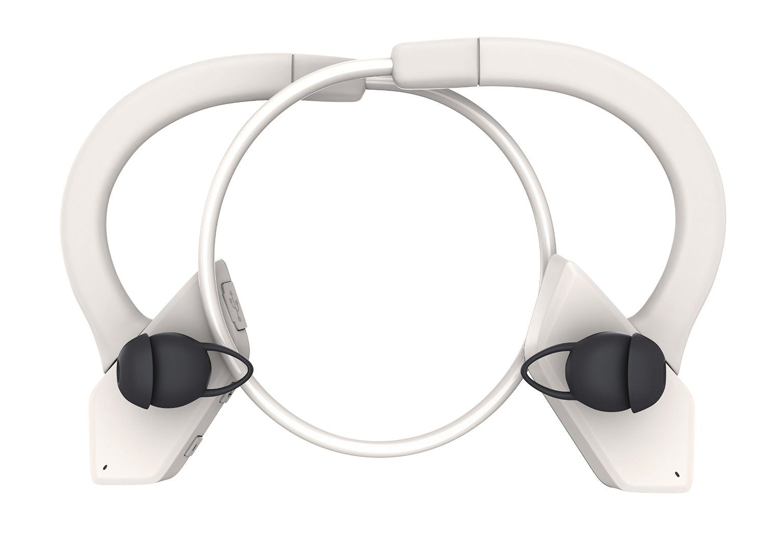 Headphones Bluetooth, Ghostek Earblades White Sweatproof Bluetooth 4.1 Headphones Water Resistant