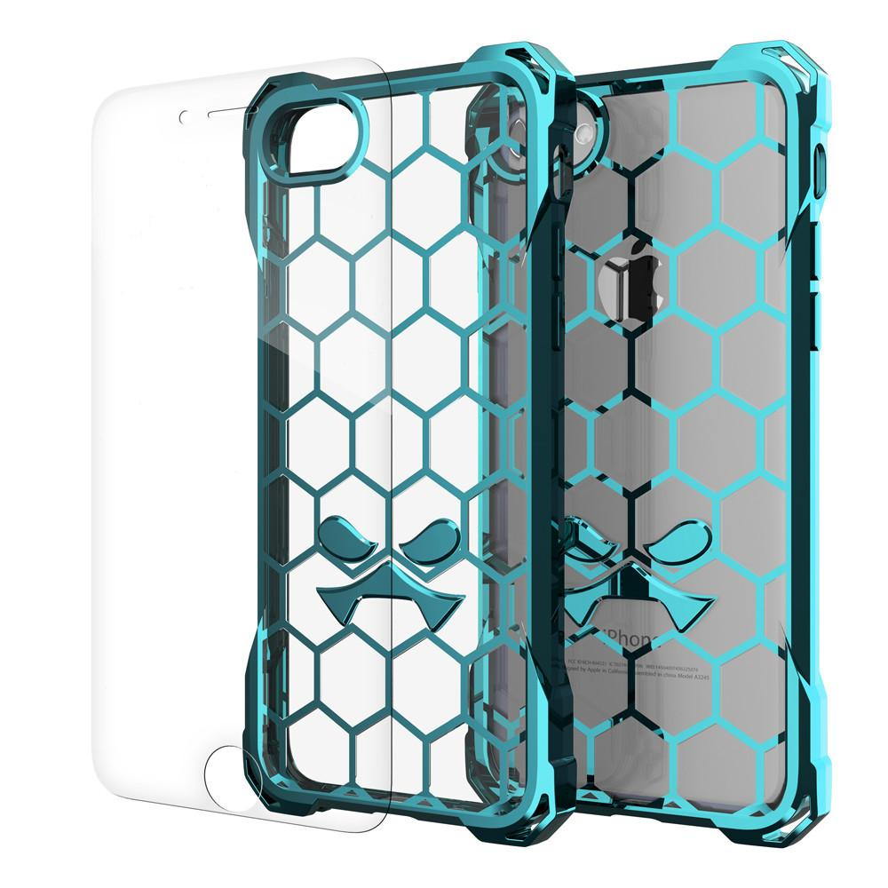 iPhone 8+ Plus Case, Ghostek® Covert Teal Premium Protective Armor | Lifetime Warranty Exchange