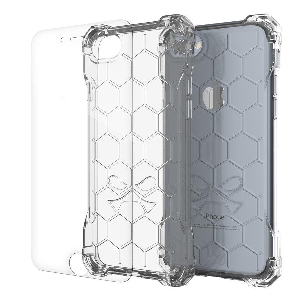 iPhone 7 Case, Ghostek® Covert Clear, Premium Impact Protective Armor | Lifetime Warranty Exchange