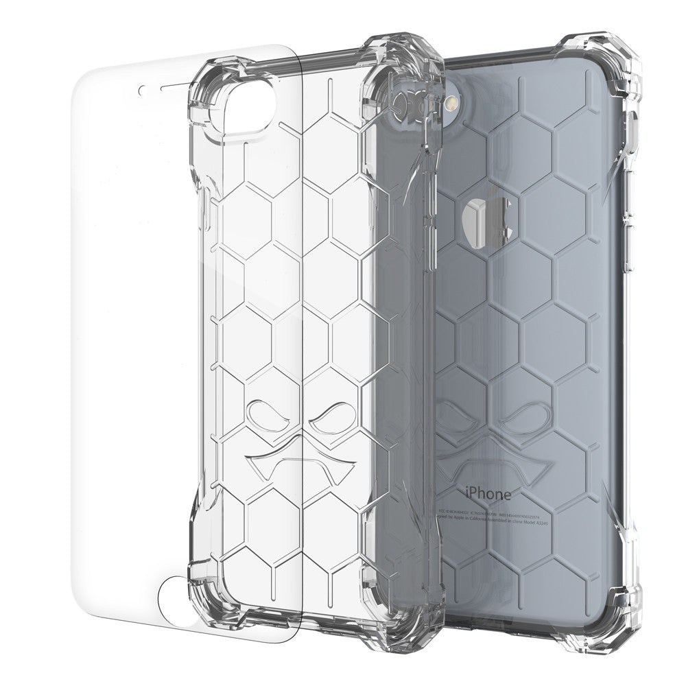 iPhone 7+ Plus Case, Ghostek® Covert Clear, Premium Impact Protective Armor | Warranty