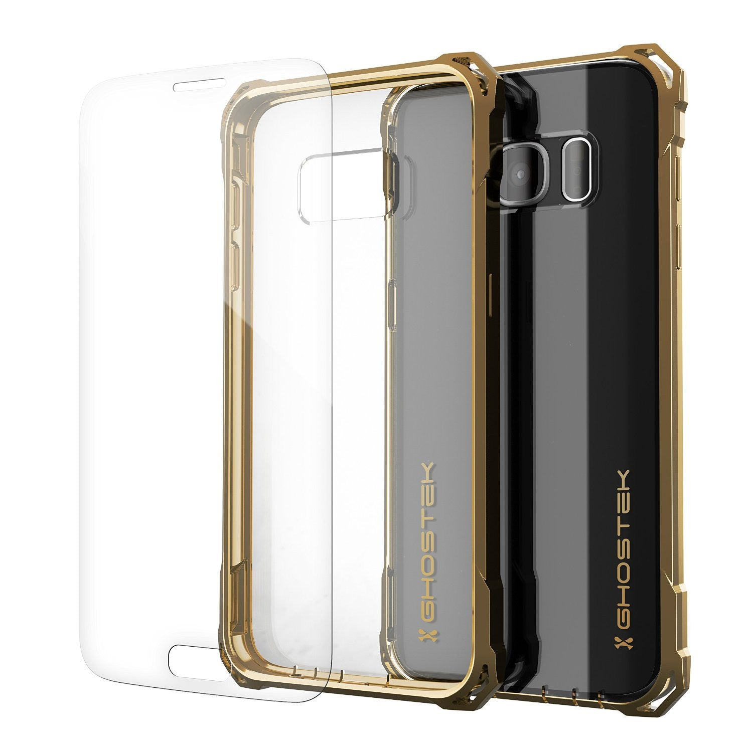 Galaxy S7 Case, Ghostek® Covert Gold Series Premium Impact Cover | Lifetime Warranty Exchange