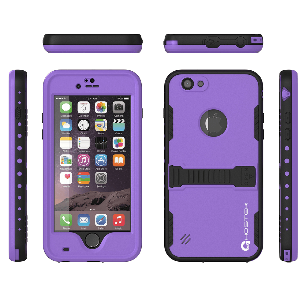 iphone-6-plus-waterproof-case-ghostek-atomic-purple-apple-iphone-6-plus-waterproof-case-w-attached-screen-protector-lifetime-warranty-apple-iphone-6-plus-slim-fitted-waterproof-shock-proof-dust-proof-dirt-proof-snow-proof-cover-case-ghocas192