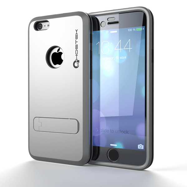 For iPhone Xr Full Body Rugged Cover Case with Built in