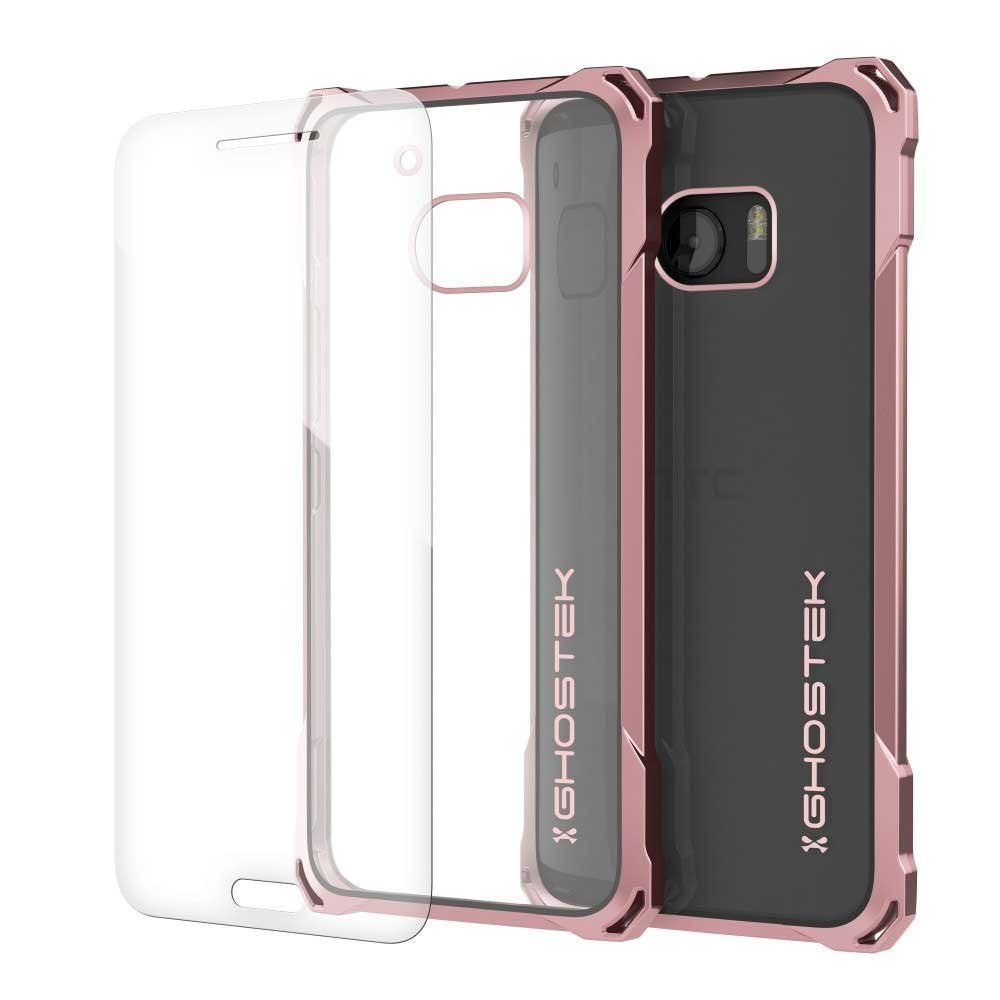 HTC 10 Case, Ghostek® Covert Peach Series Premium Slim Hybrid | w/Screen Protector | Ultra Fit