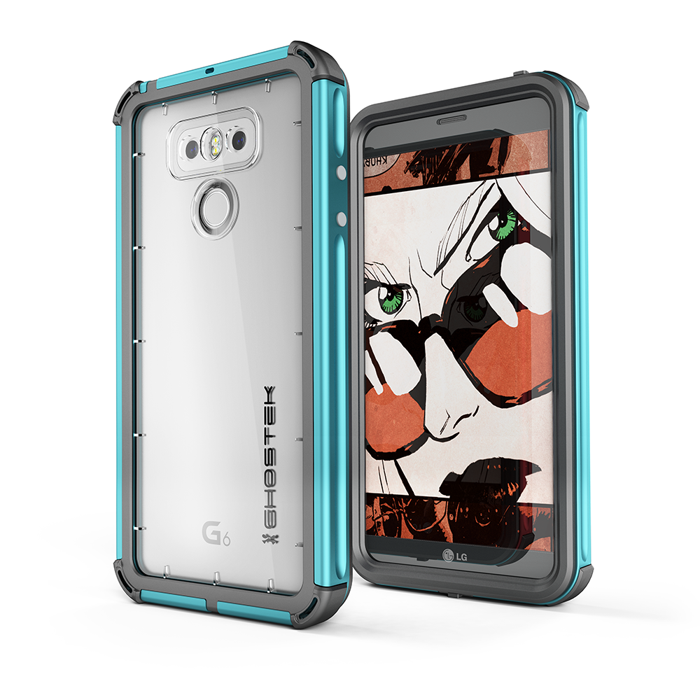 LG G6 WATERPROOF CASE | ATOMIC 3 SERIES | TEAL