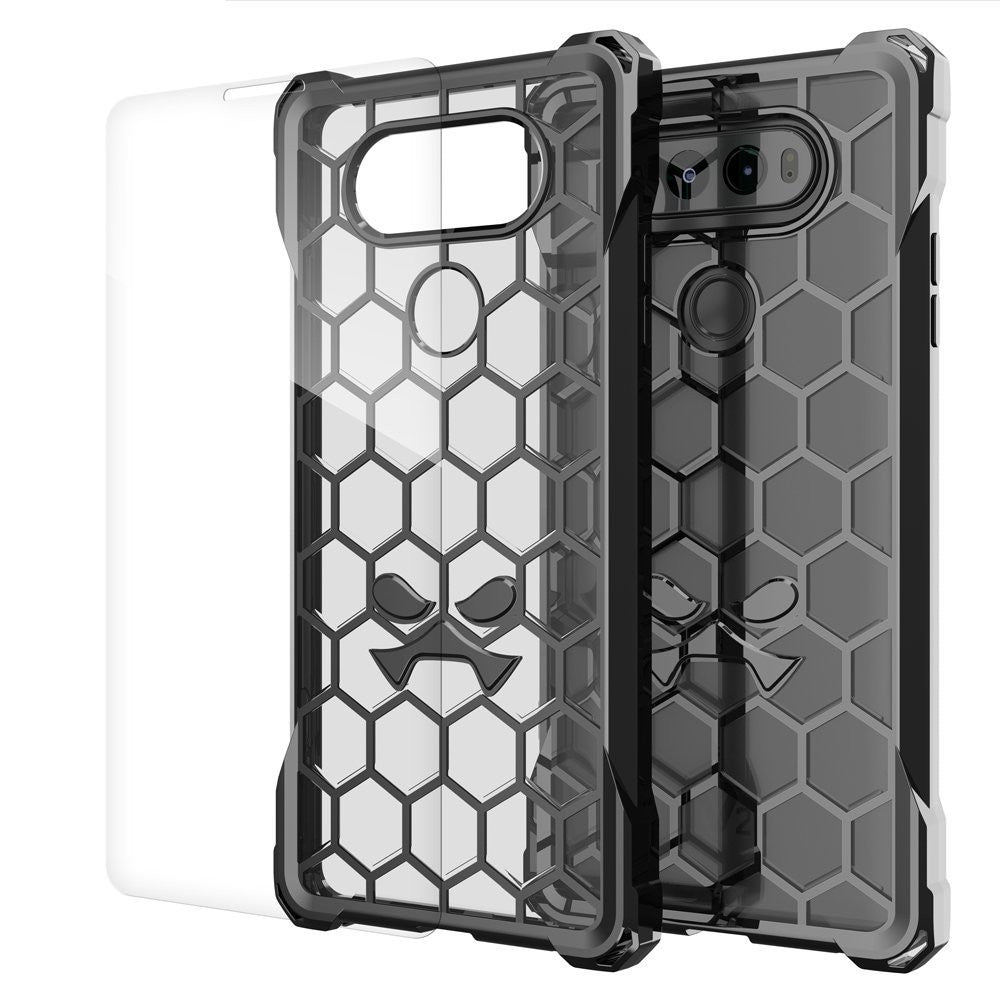 LG v20 Case, Ghostek® Covert Space Grey, Premium Impact Armor | Lifetime Warranty Exchange