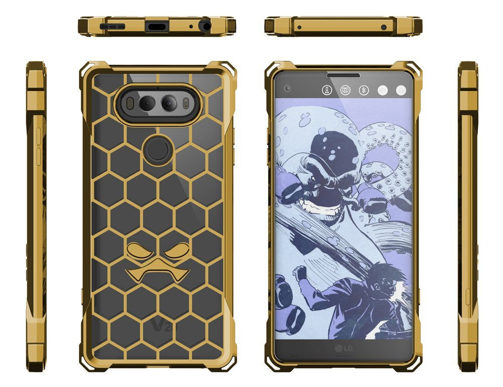 LG v20 Case, Ghostek® Covert Gold, Premium Impact Protective Armor | Lifetime Warranty Exchange