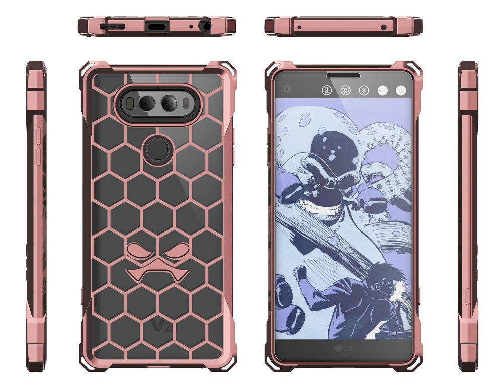 LG v20 Case, Ghostek® Covert Peach, Premium Impact Protective Armor | Lifetime Warranty Exchange
