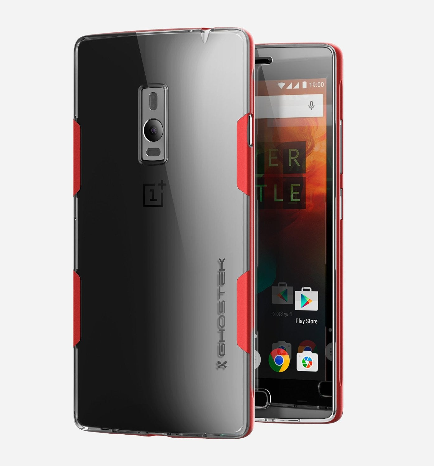OnePlus 2 Case, Ghostek® Cloak Red Series for OnePlus 2 Slim Hybrid | Lifetime Warranty Exchange