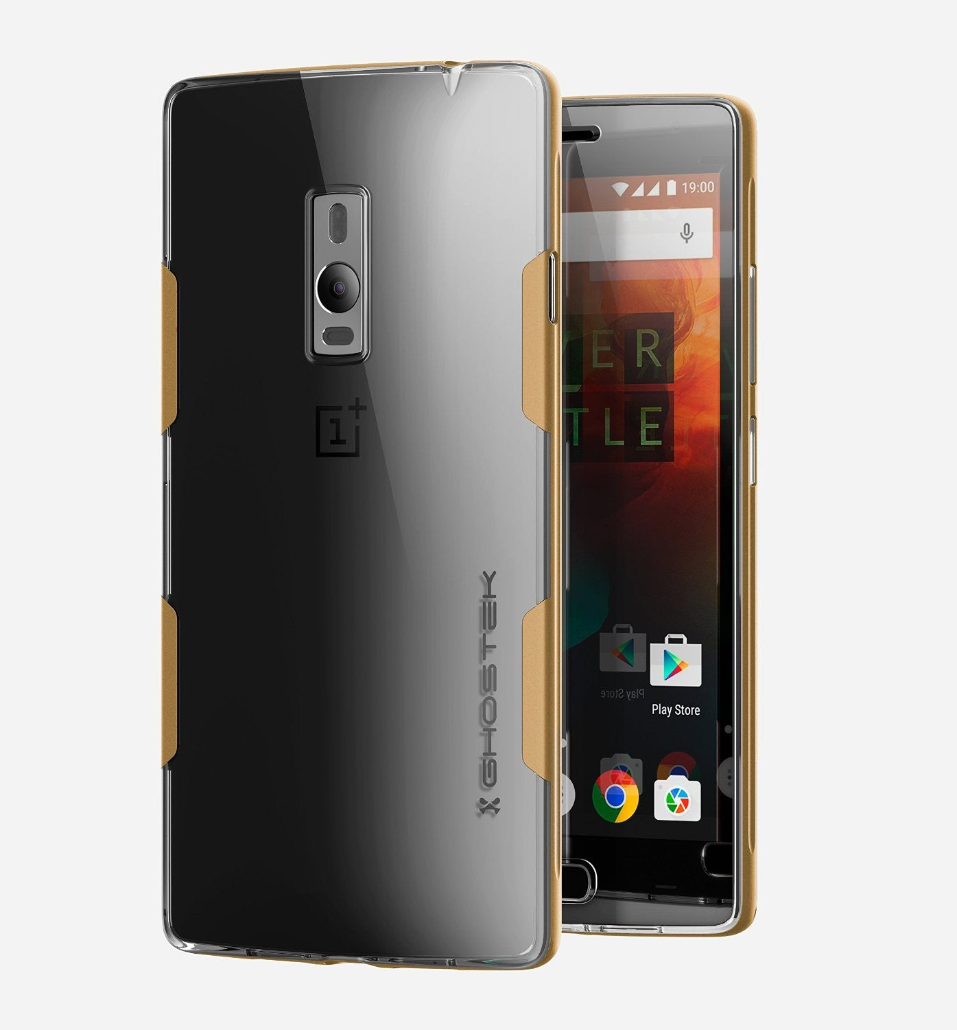 OnePlus 2 Case, Ghostek® Cloak Gold Series for OnePlus 2 Slim Hybrid | Lifetime Warranty Exchange