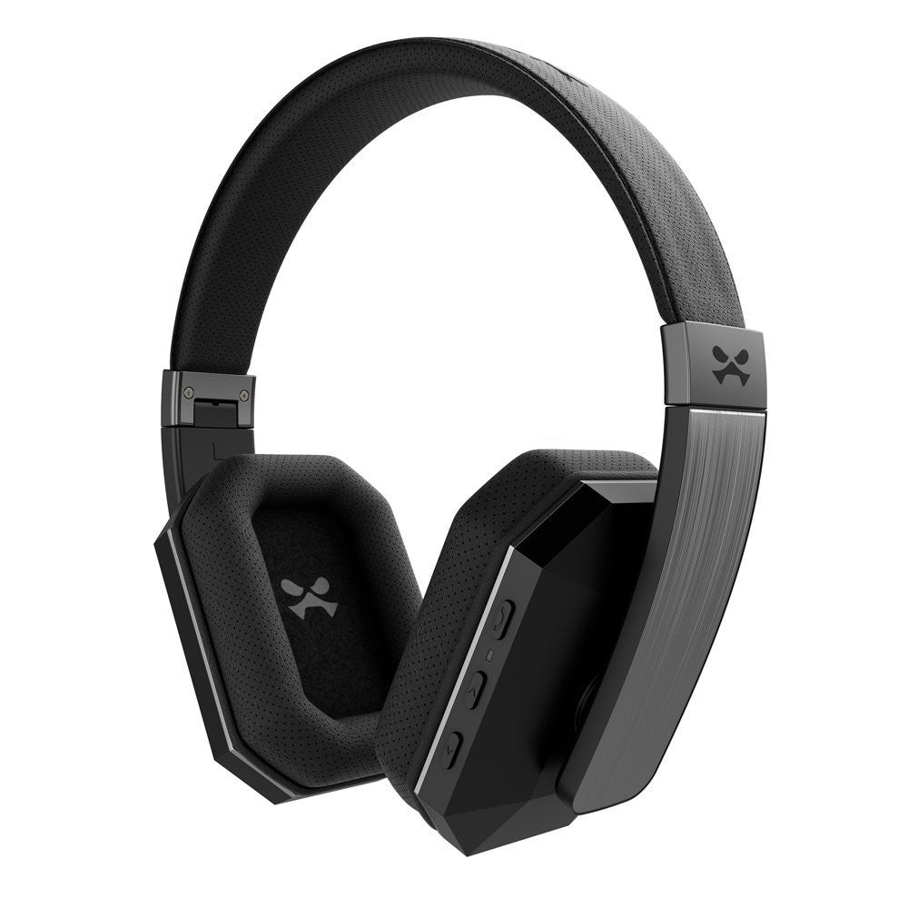 Wireless Bluetooth Headphones, Ghostek soDrop 2  [Black] Series aptX Over-Ear Headset with Noise Reduction, Bluetooth 4.0, HD Sound