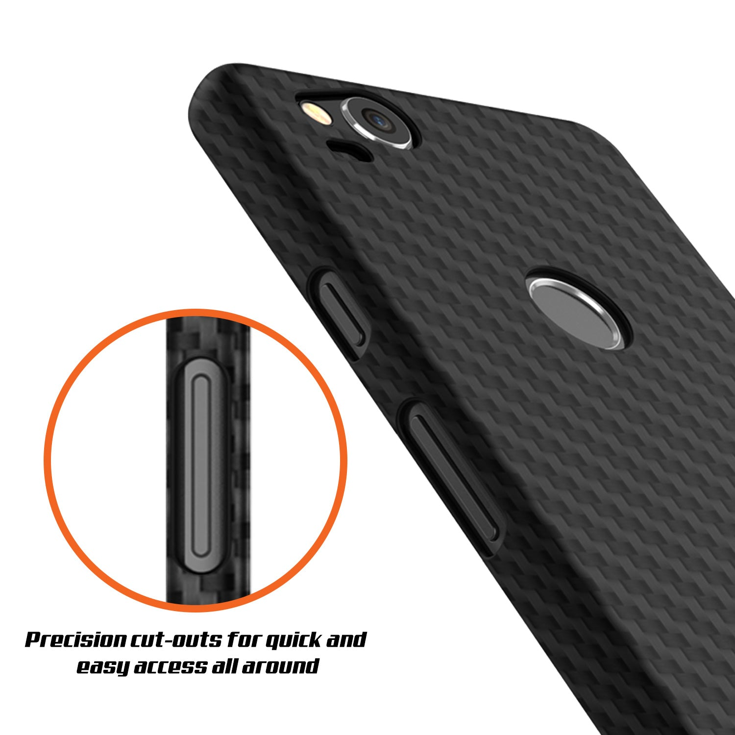 finest selection 2c32e cca09 Google Pixel 2 CarbonShield Heavy Duty & Ultra Thin 2 Leather Cover