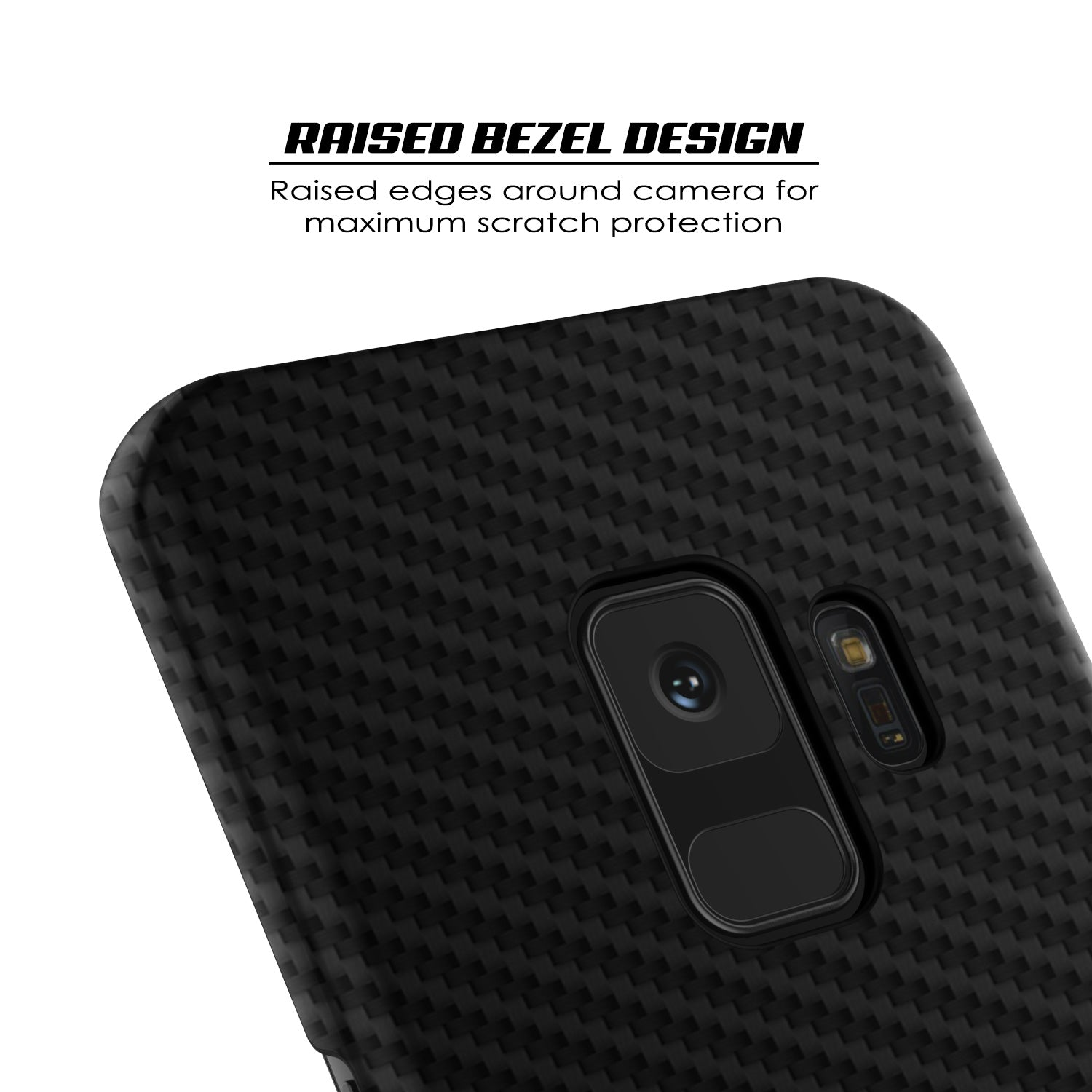 separation shoes 6d325 ae622 Galaxy S9 Case, Punkcase CarbonShield, Heavy Duty & Ultra Thin 2 Piece