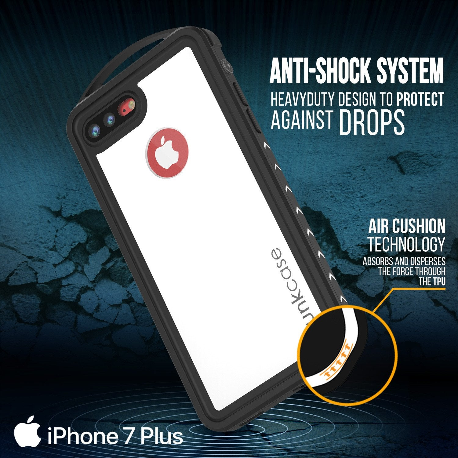 how to clear my iphone iphone 8 plus waterproof punkcase alpine series 9503