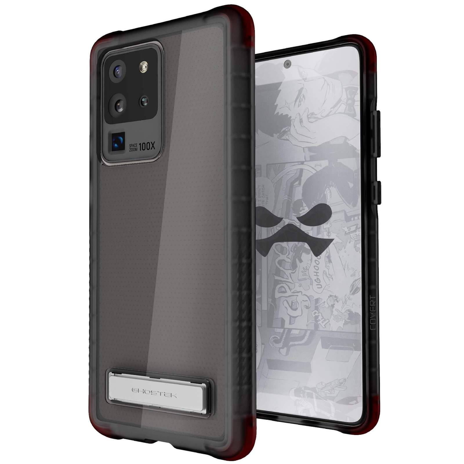 Galaxy S20 Ultra Case — COVERT [Smoke]