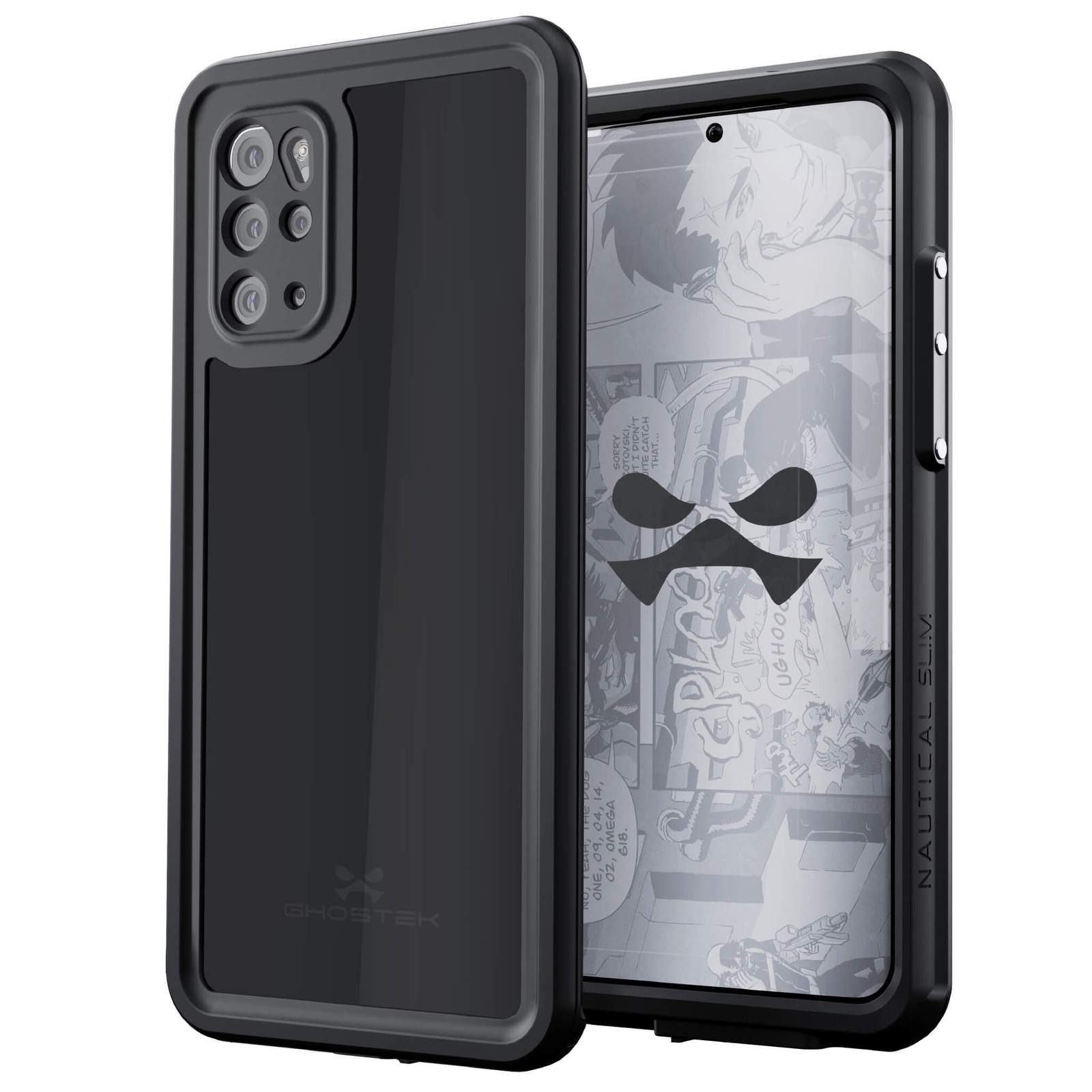 Galaxy S20+ Plus Rugged Waterproof Case | Nautical Series [Black]