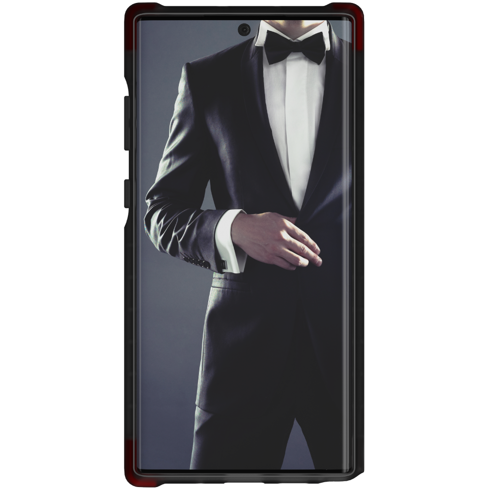 COVERT 3 for Galaxy Note 10+ Plus Ultra-Thin Clear Case [Smoke]