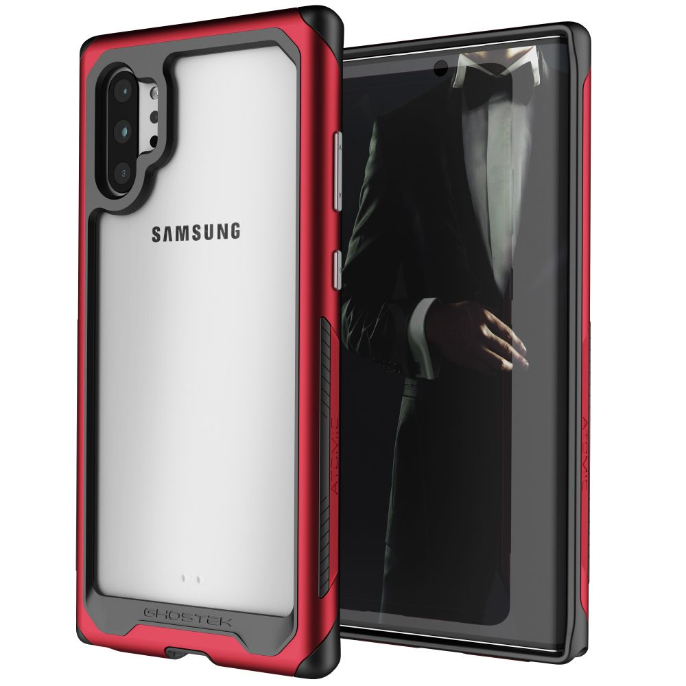 ATOMIC SLIM 3 for Galaxy Note 10+ Plus - Military Grade Aluminum Case [Red]