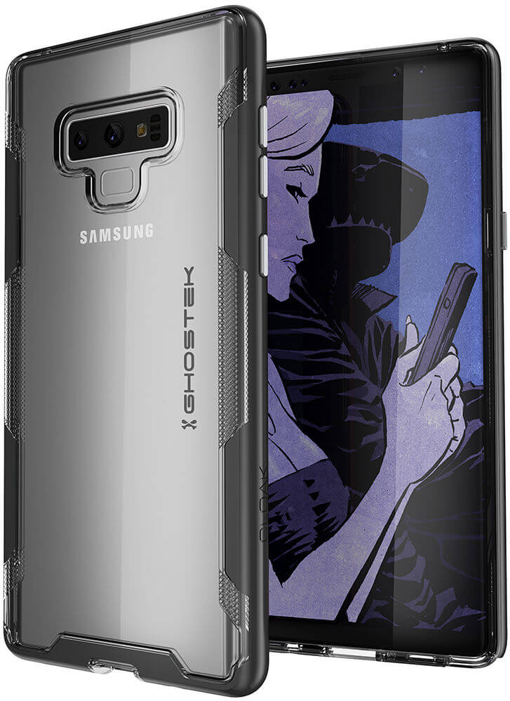 Galaxy Note 9 Case, Ghostek Cloak 3 Full Body TPU [Shockproof] | BLACK