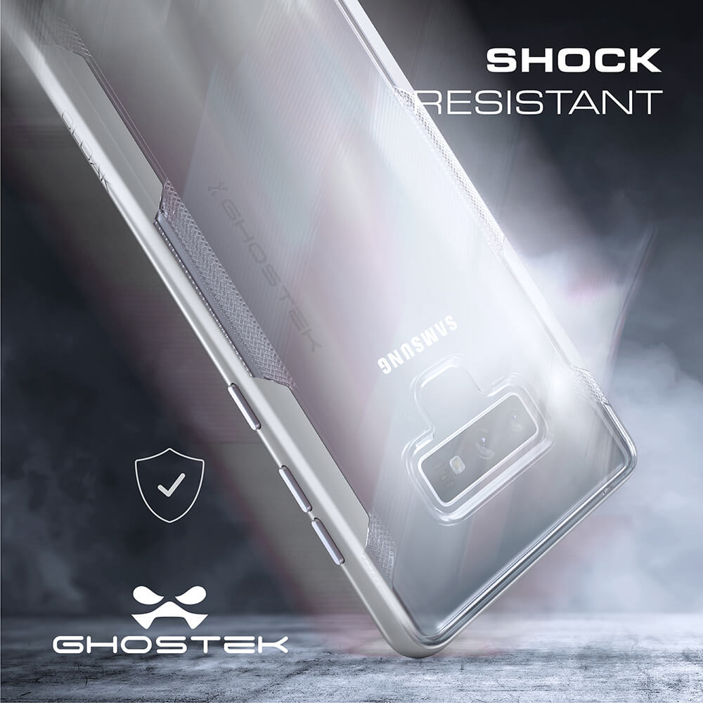 Galaxy Note 9 Case, Ghostek Cloak 3 Full Body TPU [Shockproof] | PINK