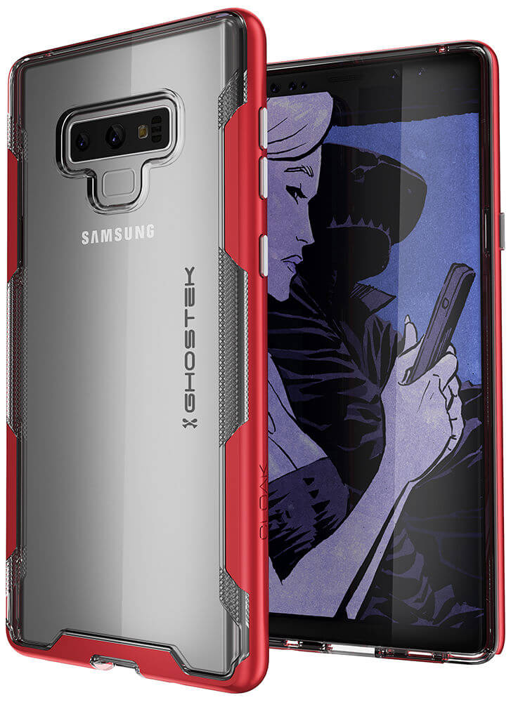 Galaxy Note 9 Case, Ghostek Cloak 3 Full Body TPU [Shockproof] | RED
