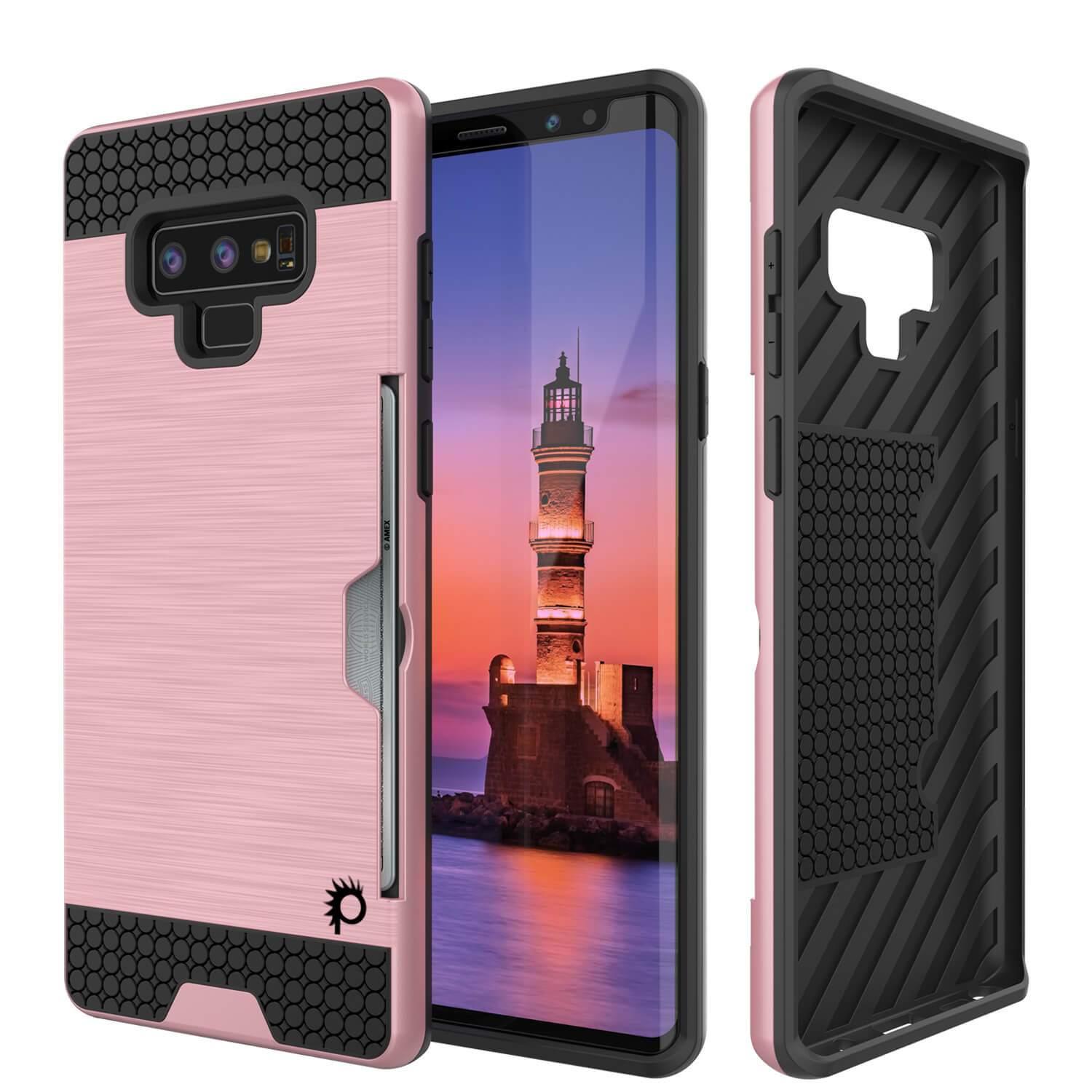 online store d1c78 8148b Galaxy Note 9 Case, PUNKcase [SLOT Series] Slim Fit Samsung Note 9 [Rose  Gold]