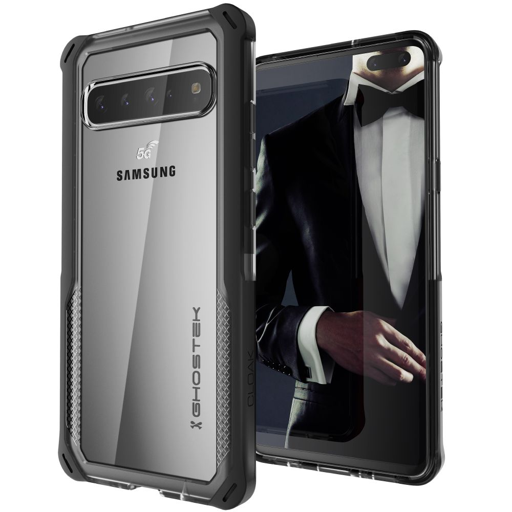CLOAK 4 for Galaxy S10 5G Shockproof Hybrid Case [Black]