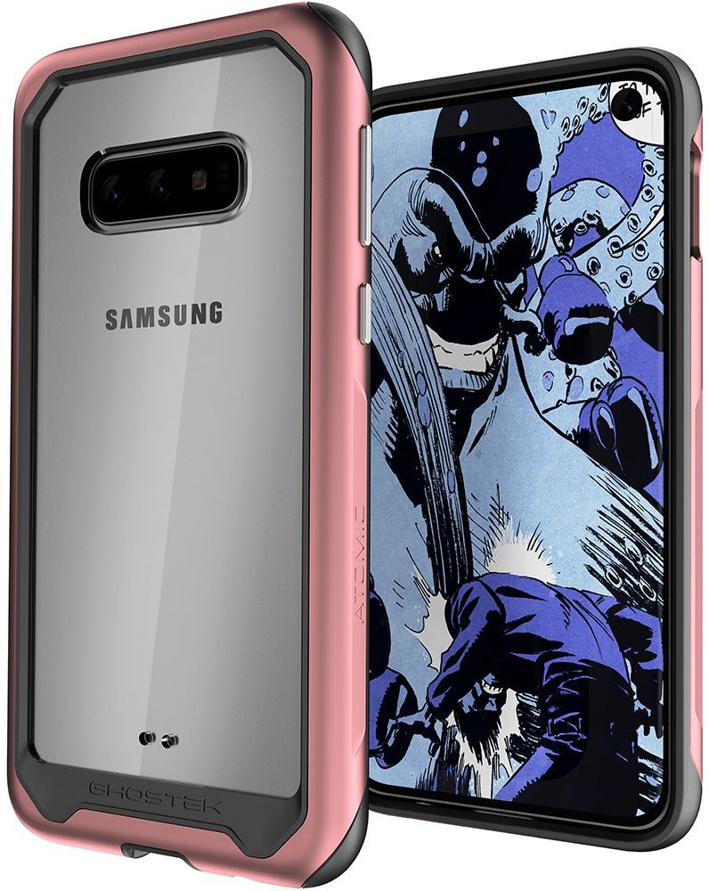 Galaxy S10e Military Grade Aluminum Case | Atomic Slim 2 Series [Pink]