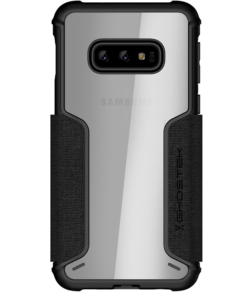 Galaxy S10e Wallet Case | Exec 3 Series [Black]