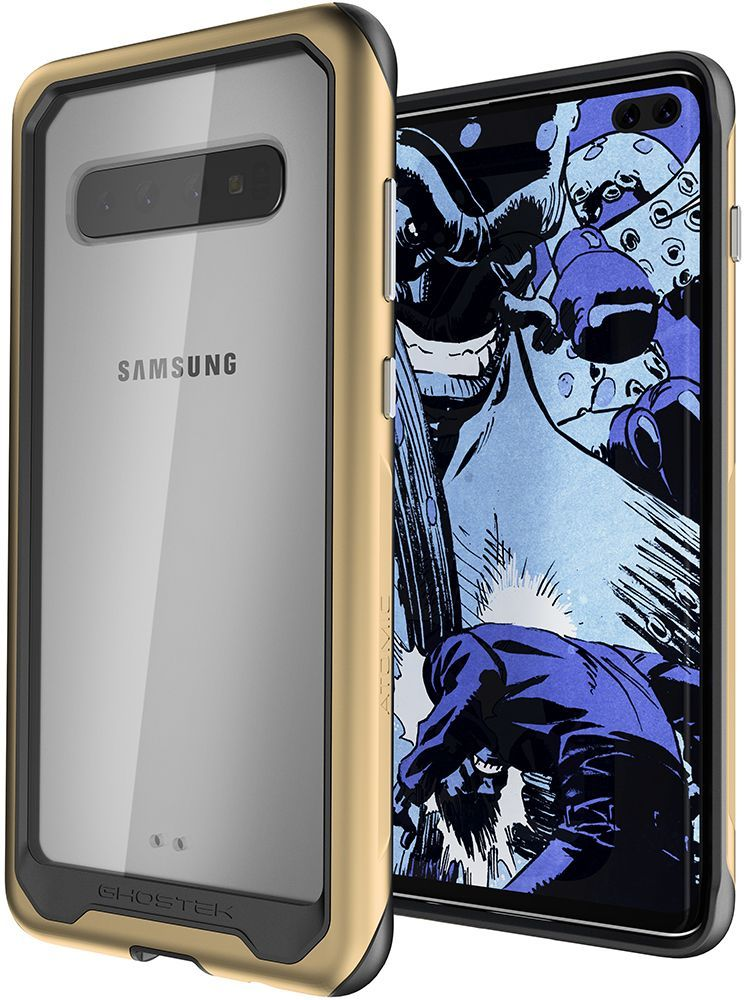 Galaxy S10+ Plus Military Grade Aluminum Case | Atomic Slim 2 Series [Gold]