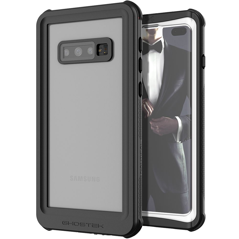 Galaxy S10+ Plus Rugged Waterproof Case | Nautical 2 Series [White]