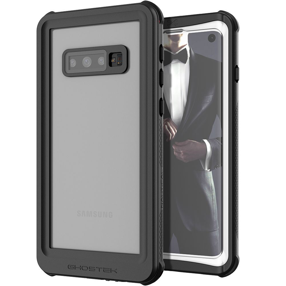 Galaxy S10 Rugged Waterproof Case | Nautical 2 Series [White]