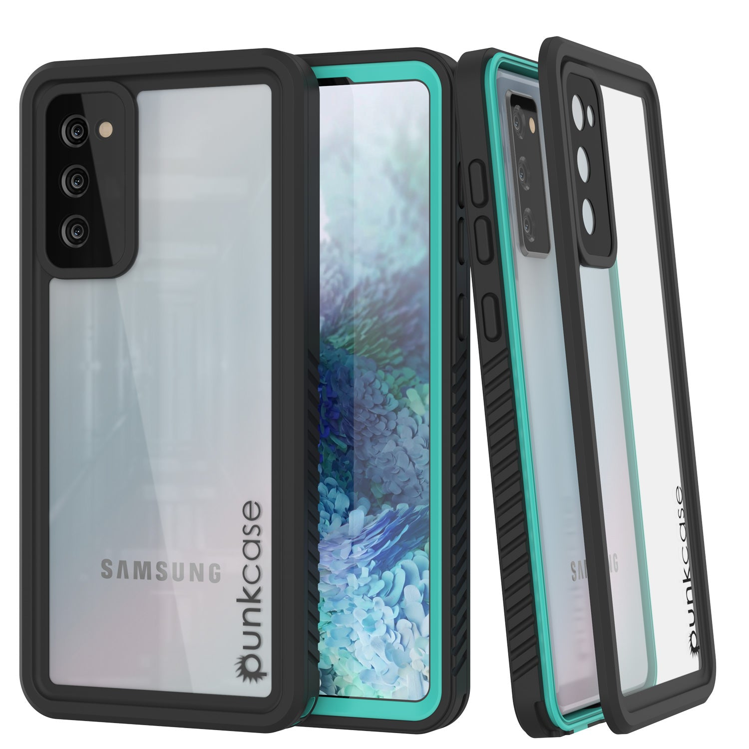 Galaxy S20 FE Water/Shock/Snowproof [Extreme Series]  Screen Protector Case [Teal]