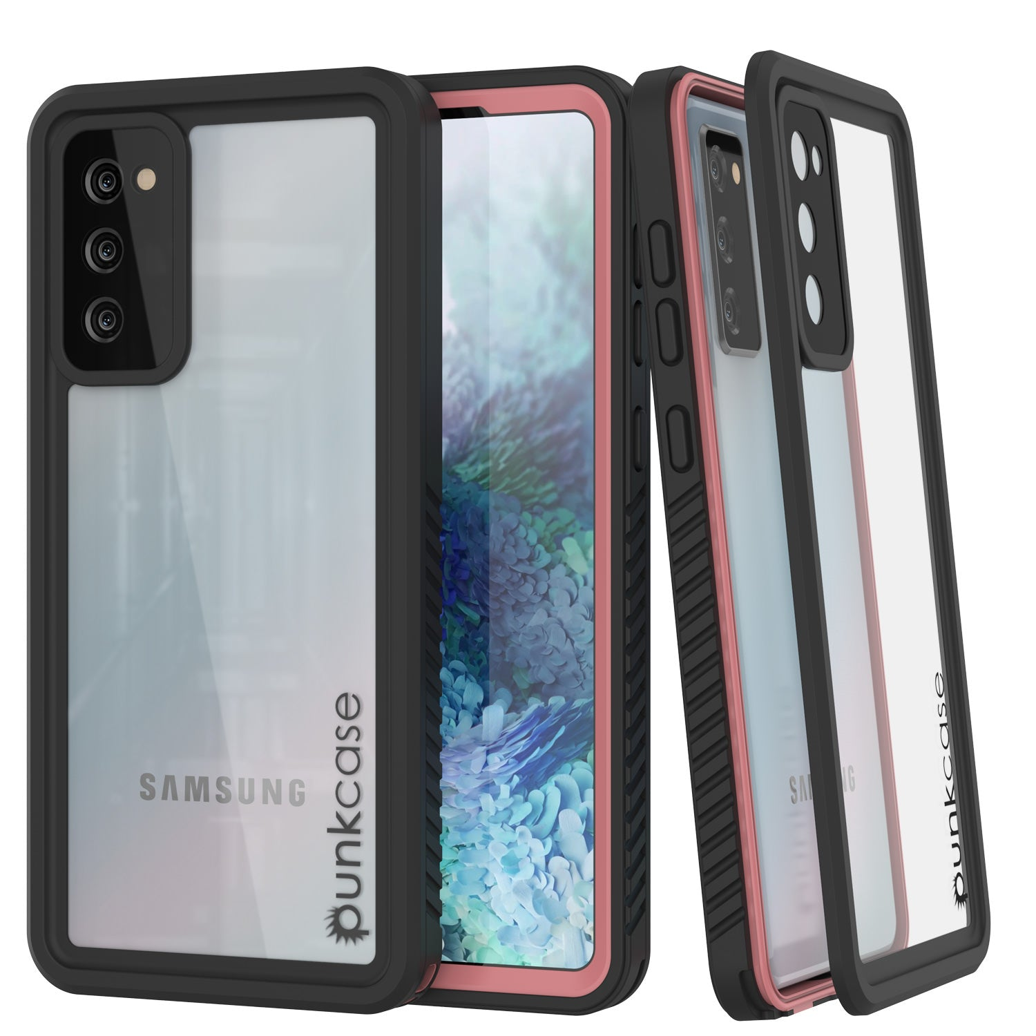 Galaxy S20 FE Water/Shock/Snowproof [Extreme Series] Slim Screen Protector Case [Pink]