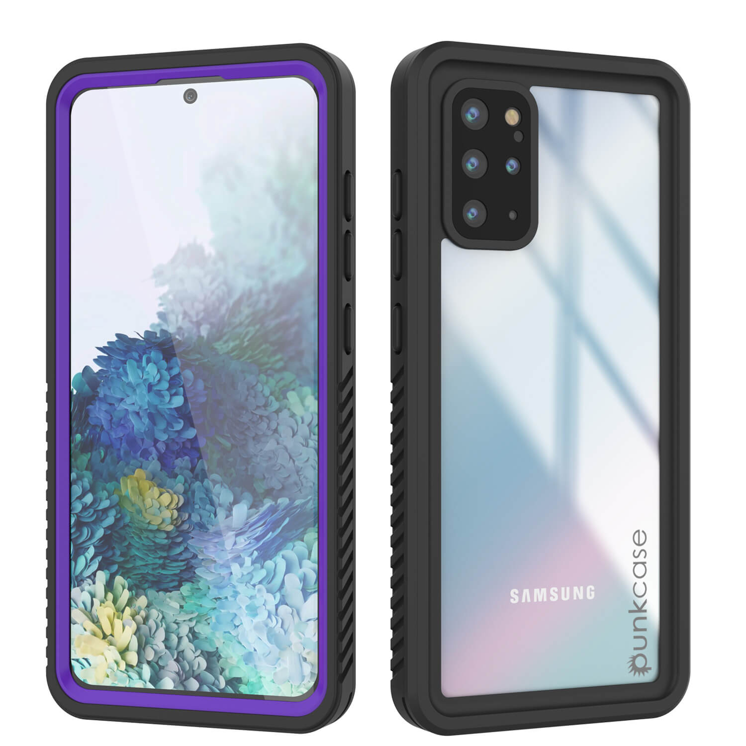 Galaxy S20+ Plus Water/Shockproof [Extreme Series] Slim Screen Protector Case [Purple]