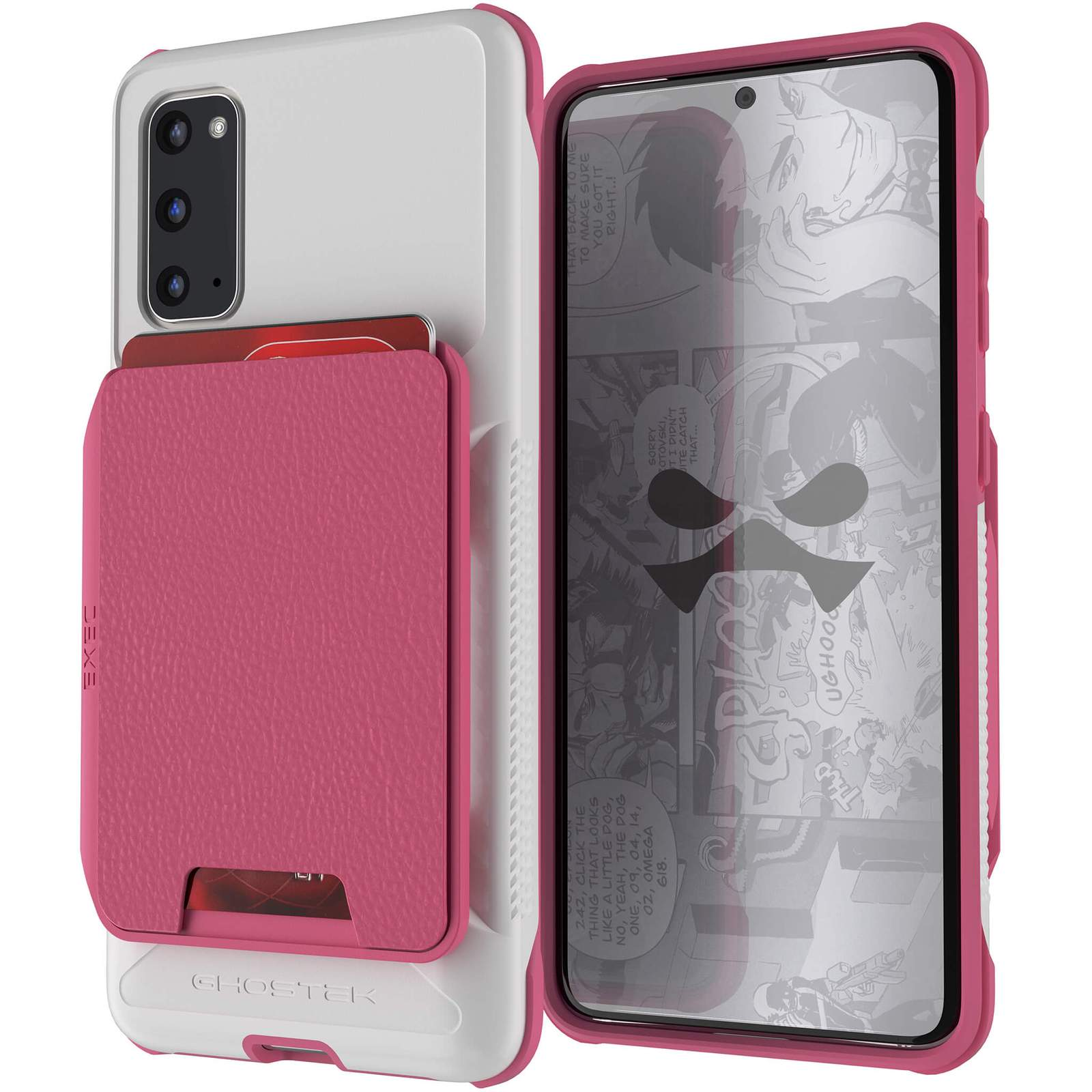 Galaxy S20 Wallet Case | Exec Series [Pink]