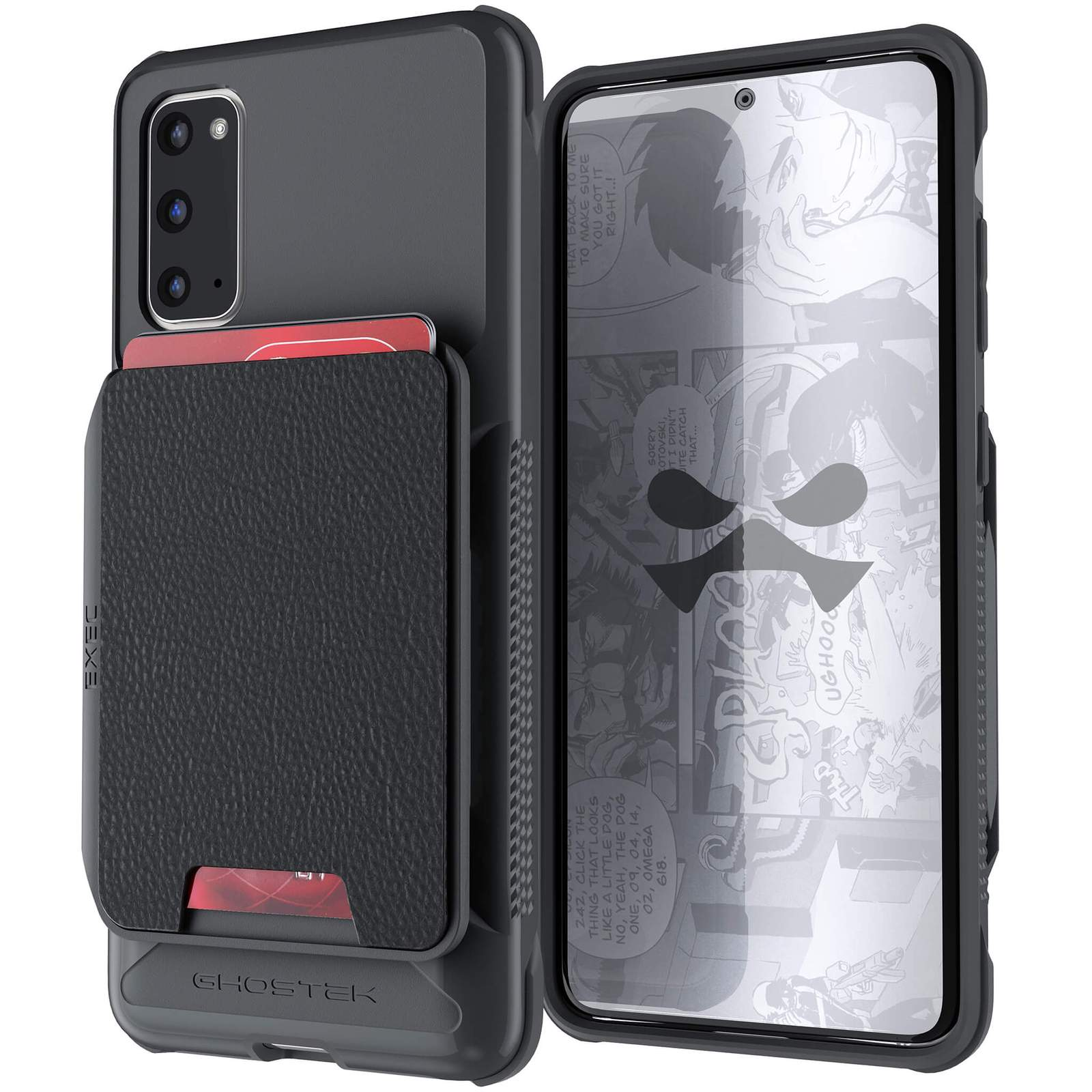 Galaxy S20 Wallet Case | Exec Series [Black]