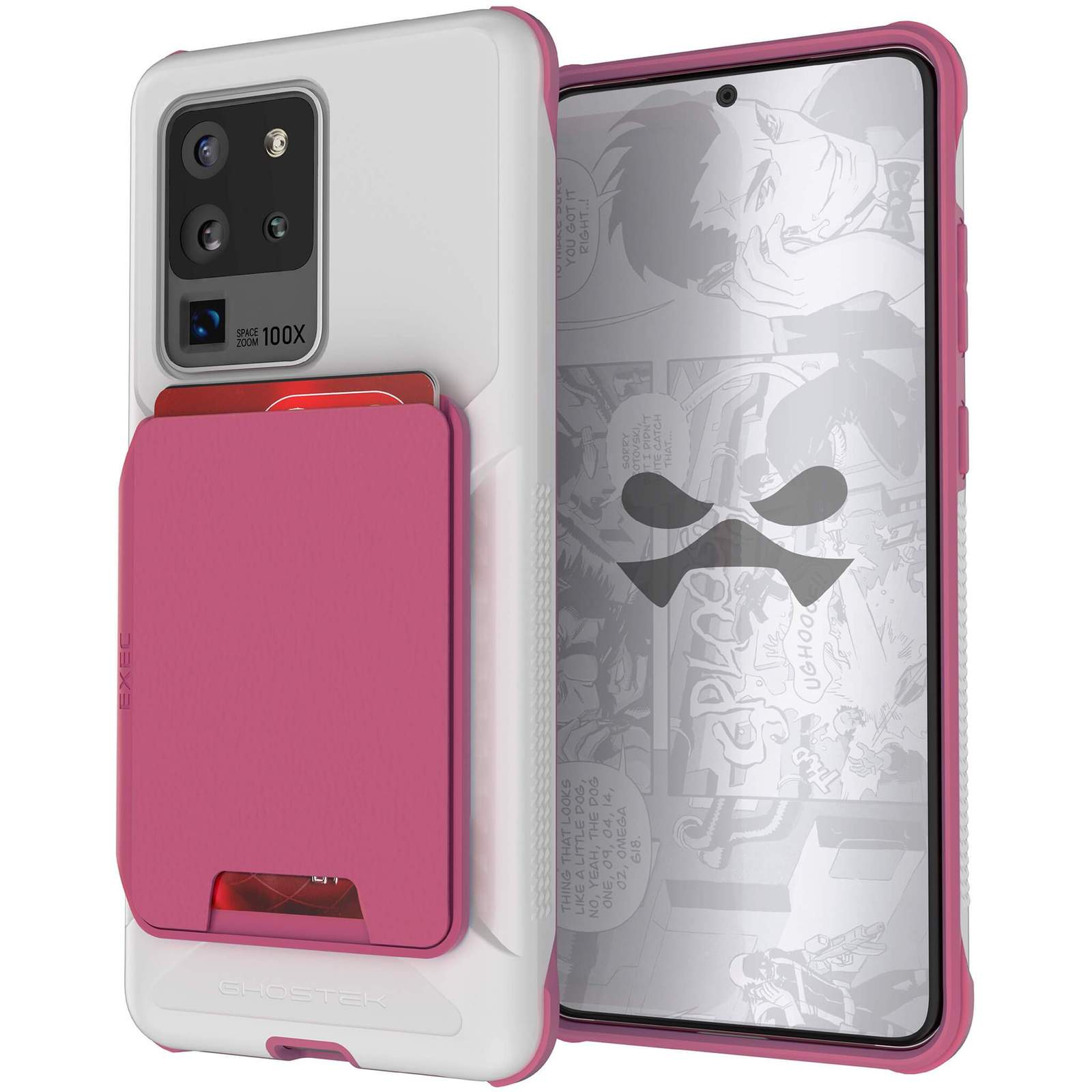 Galaxy S20 Ultra Wallet Case | Exec Series [Pink]