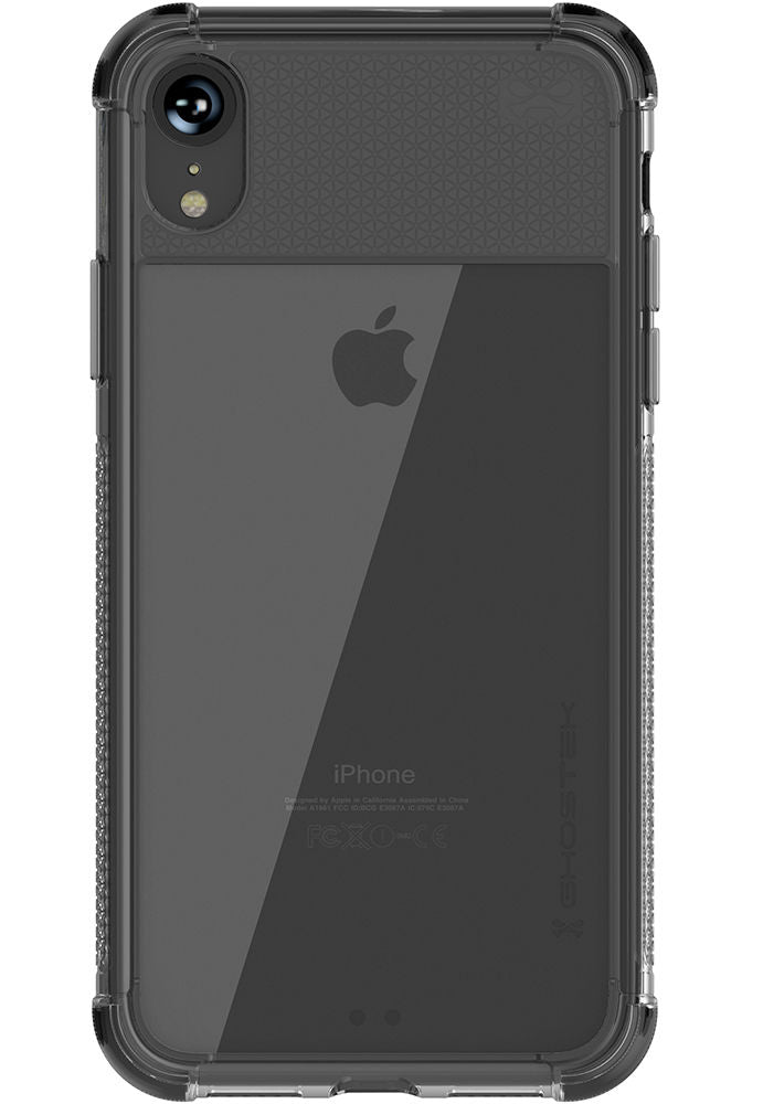Ghostek Covert2  Series Clear Silicone Gel Case for Apple iPhone XR [Black]