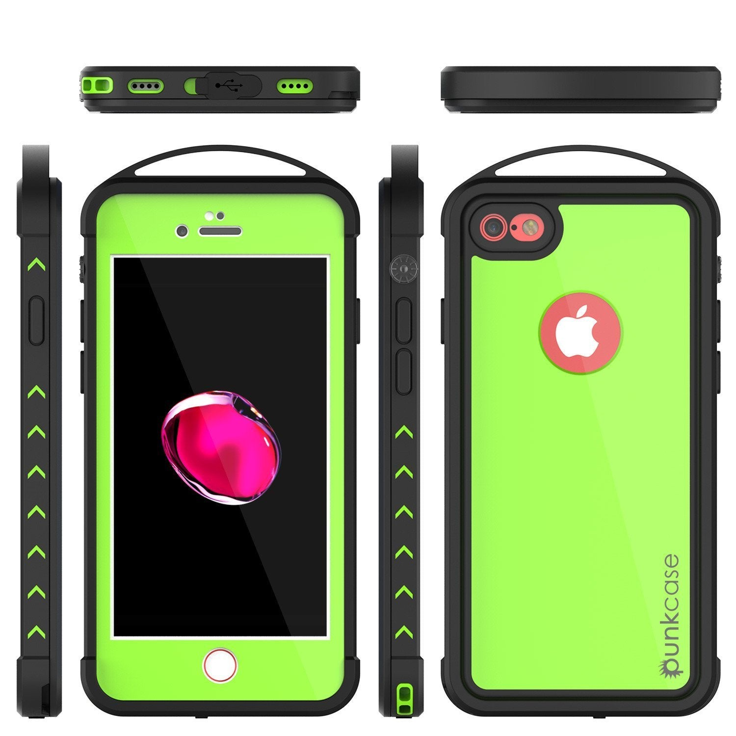 "iPhone SE (4.7"") Waterproof Case, Punkcase ALPINE Series, Light Green 