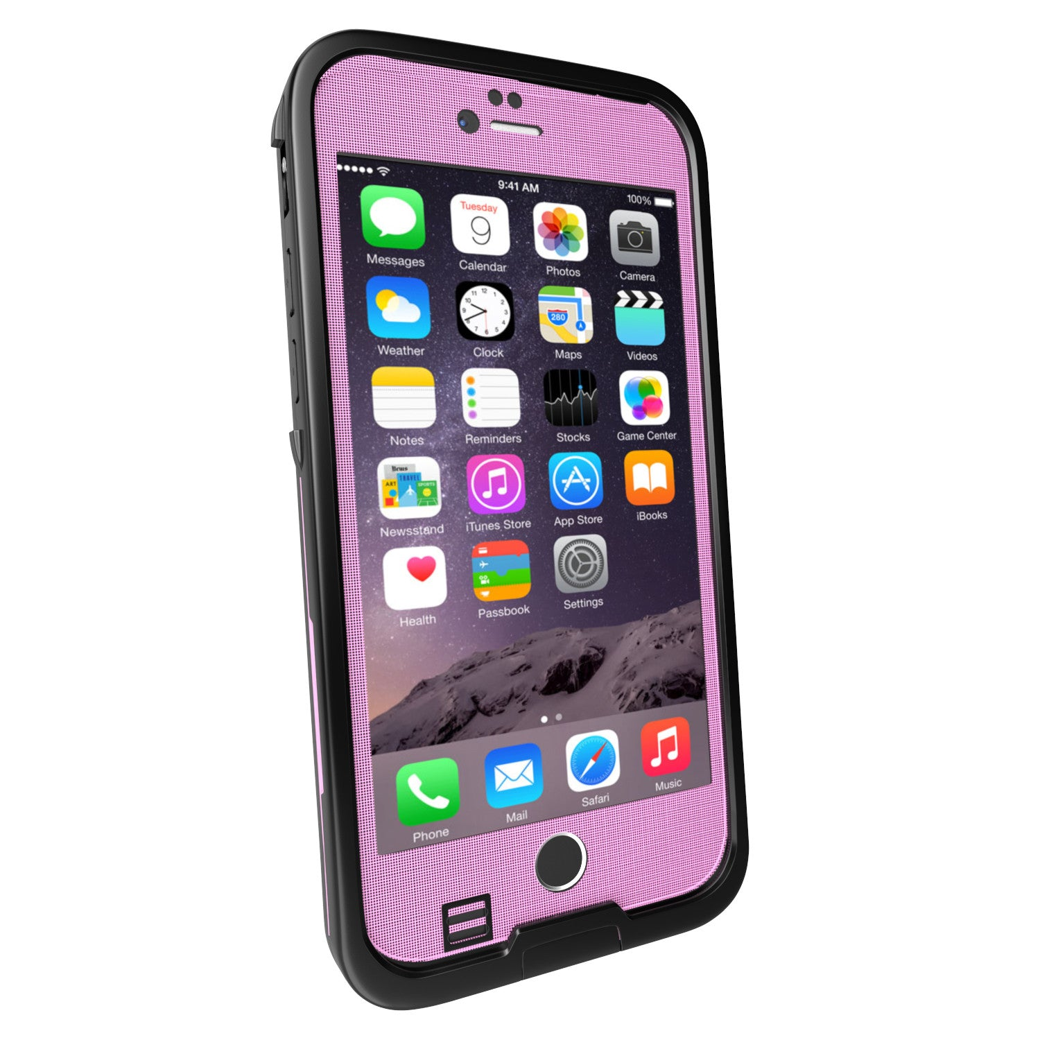 iPhone 6S/6 Waterproof Case, Punkcase SpikeStar Pink | Thin Fit 6.6ft Underwater IP68 | Warranty