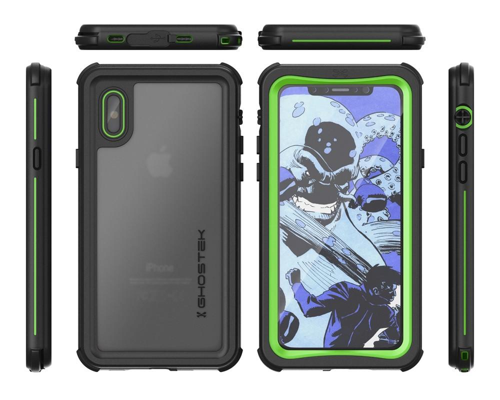 newest a06a6 300bd iPhone X Case ,Ghostek Nautical Series for iPhone X Rugged Heavy ...
