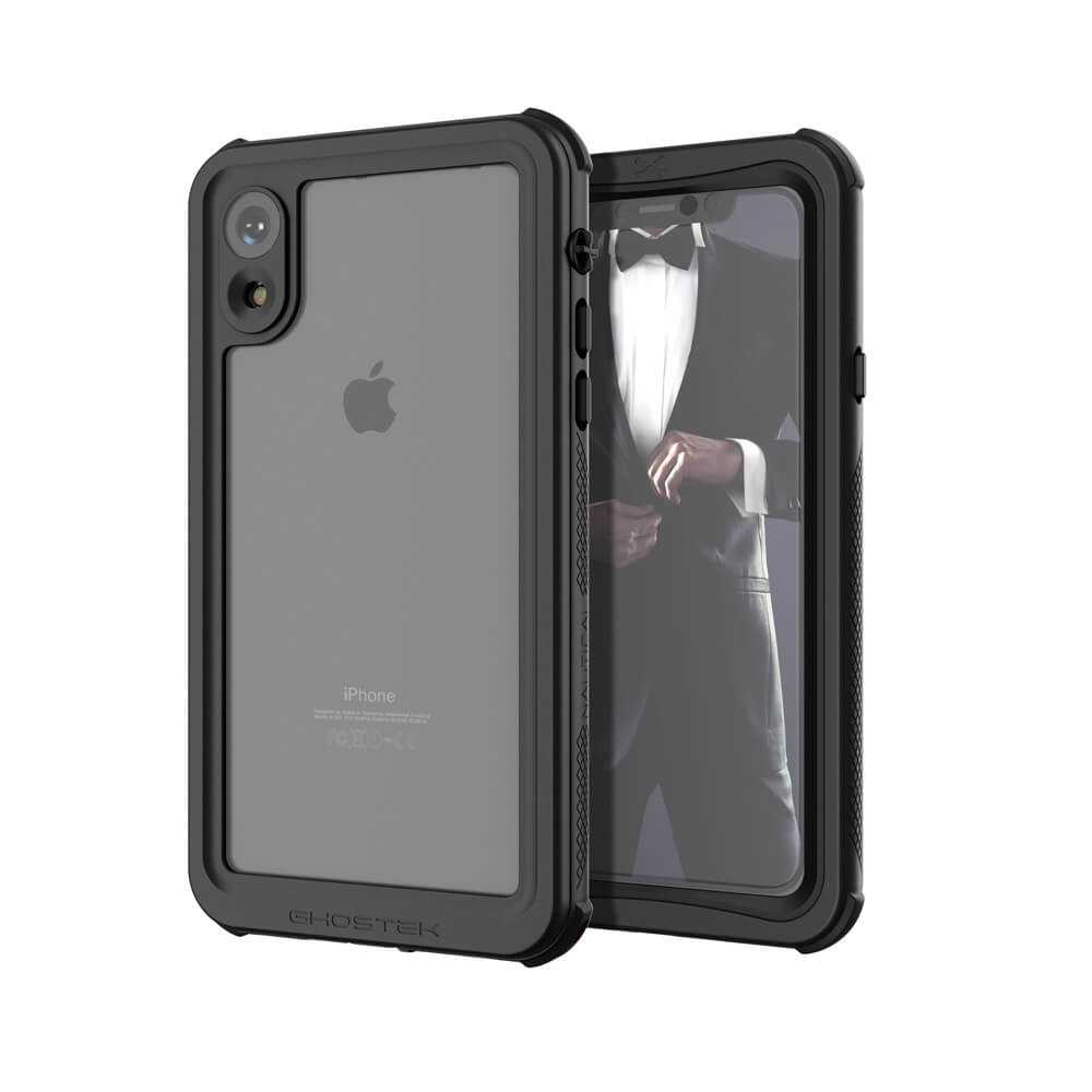 sports shoes 1b08c 8f98a iPhone Xr Case ,Ghostek Nautical Series for iPhone Xr Rugged Heavy Duty  Case | BLACK