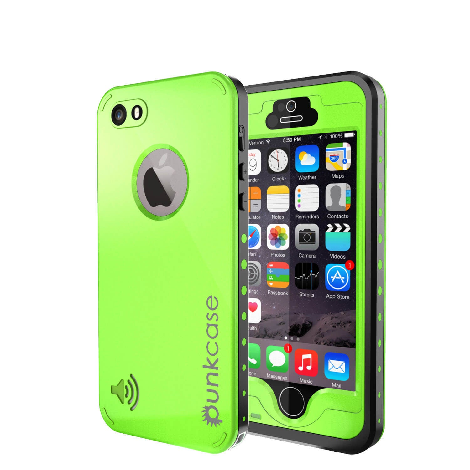 iphone 5s waterproof cases iphone 5s 5 waterproof punkcase studstar 1061