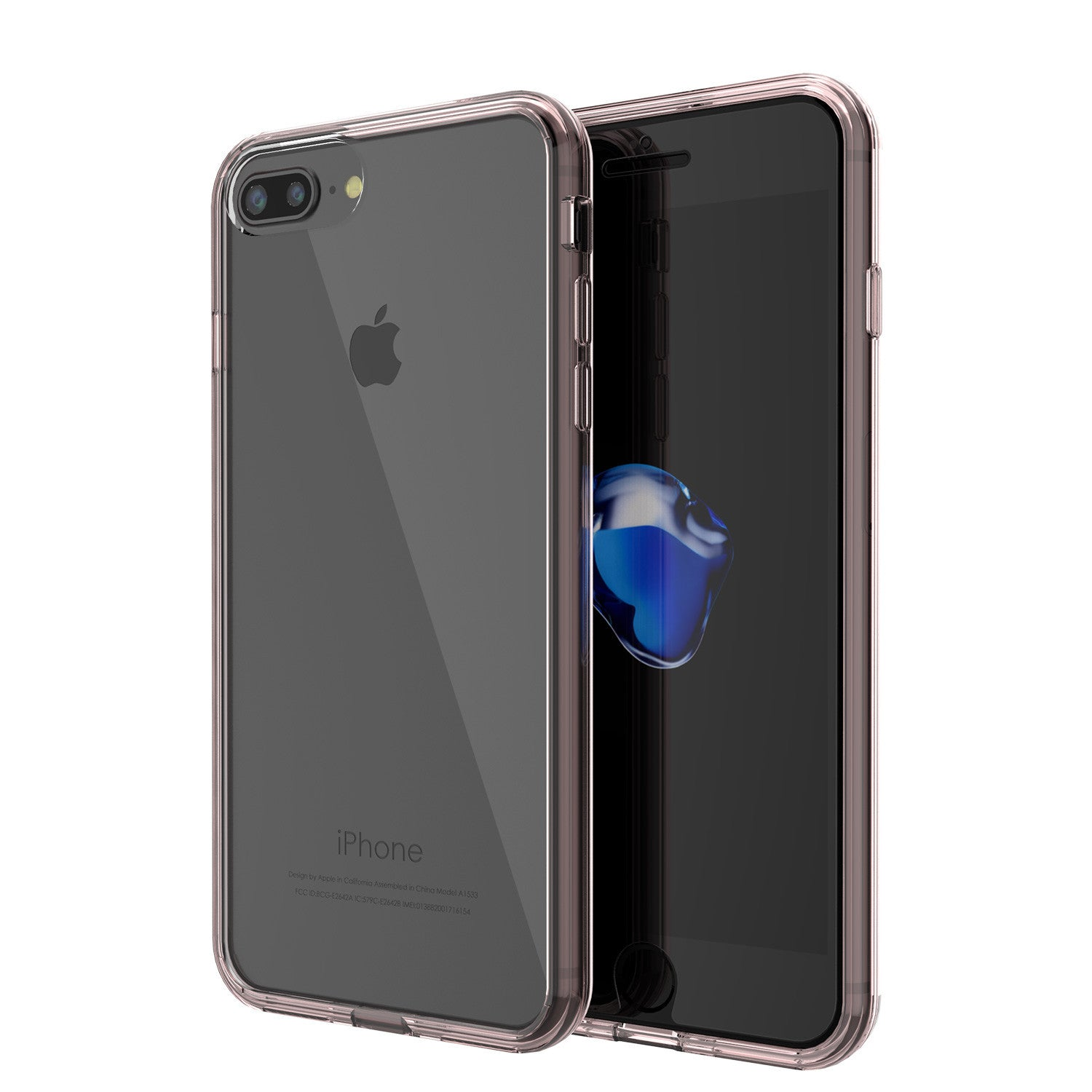 iPhone 7+ Plus Case PunkCase LUCID Clear Series for Apple iPhone 7+ Plus