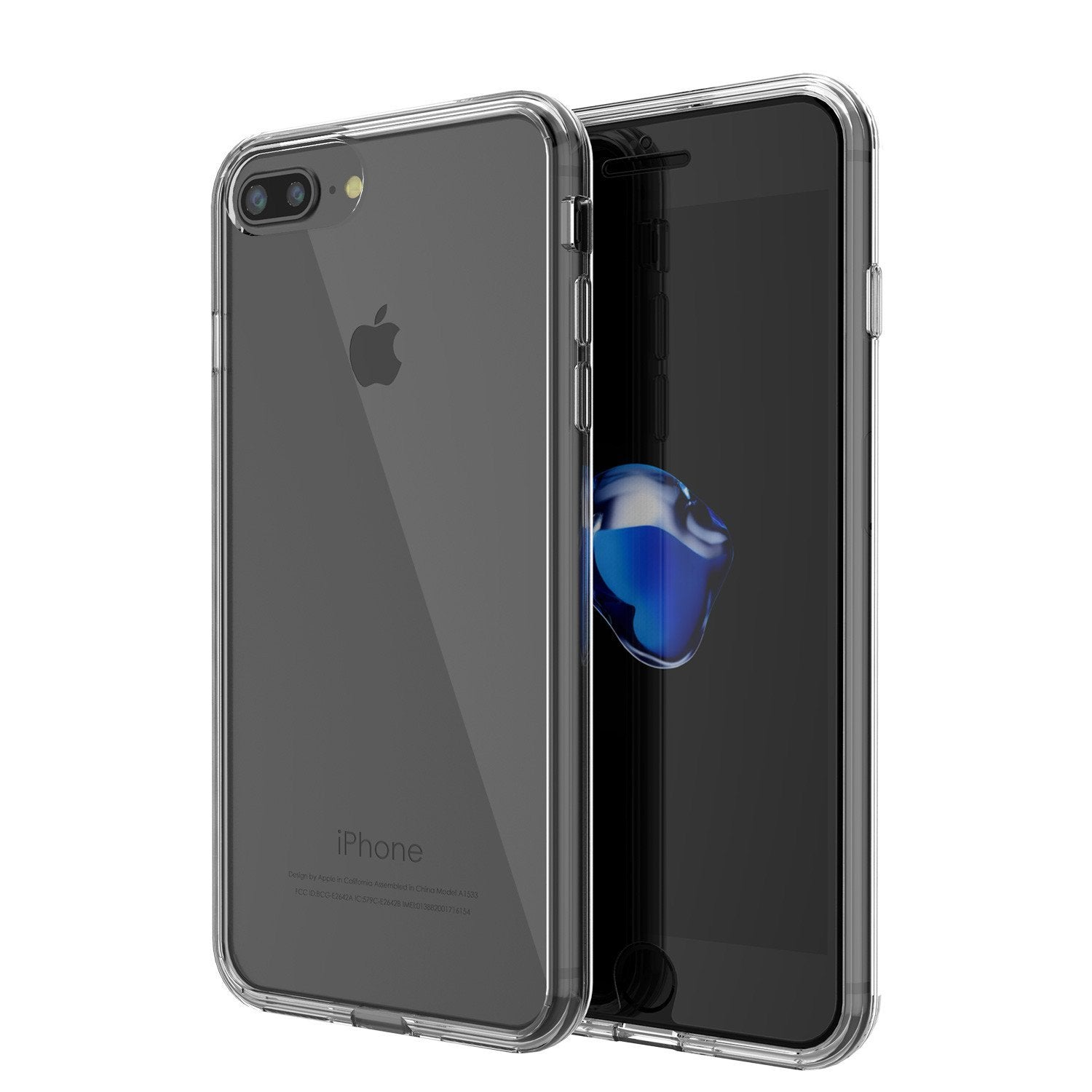 "iPhone SE (4.7"") Case Punkcase® LUCID 2.0 Clear Series Series w/ PUNK SHIELD Screen Protector 